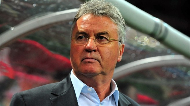Hiddink accepts Anzhi challenge