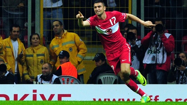 Turkey down Azerbaijan to seal play-off place