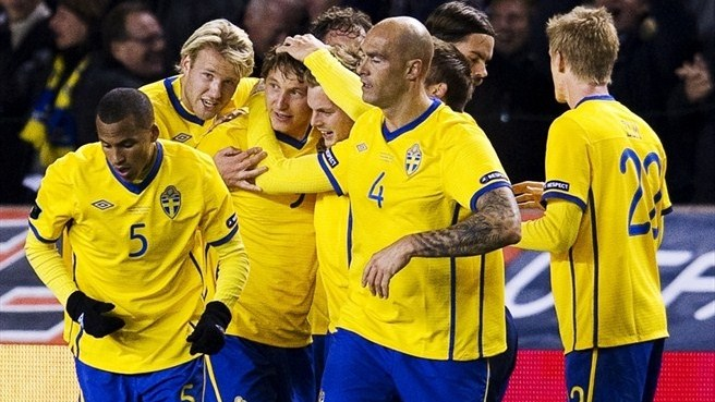 Runners-up Sweden beat Netherlands to qualify