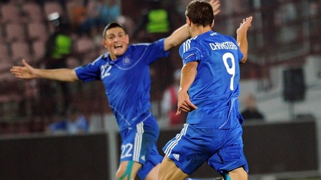 Greece get the better of ten-man Georgia