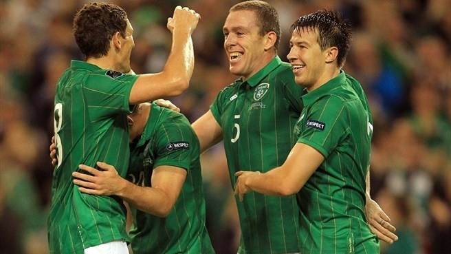 Ireland secure play-off berth at Armenia's expense