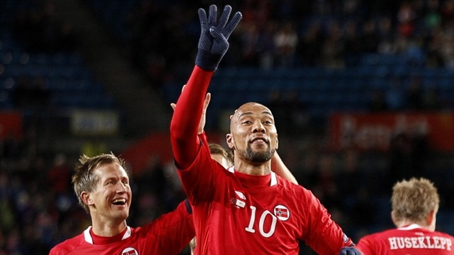 John Carew & Morten Gamst Pedersen (Norway)