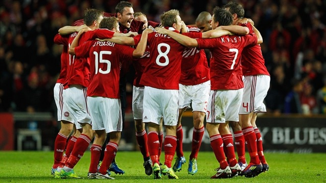 Denmark qualify, play-offs for Portugal