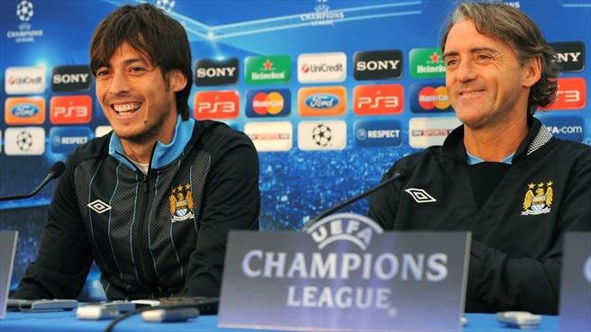 Silva thanks Mancini for City chance