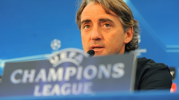 Press conference: Roberto Mancini (Man. City)