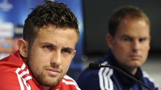 Press conference: Miralem Sulejmani (Ajax)