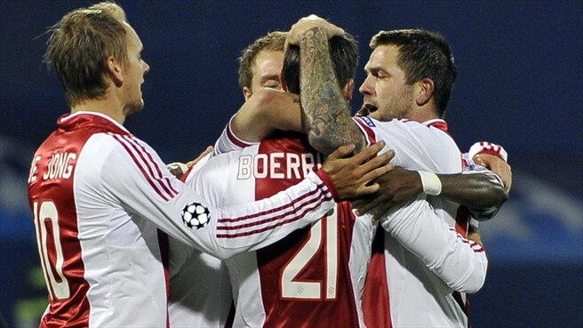 Ajax get going against Dinamo Zagreb