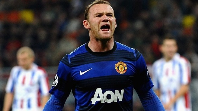 Rooney double helps United past resolute Oţelul