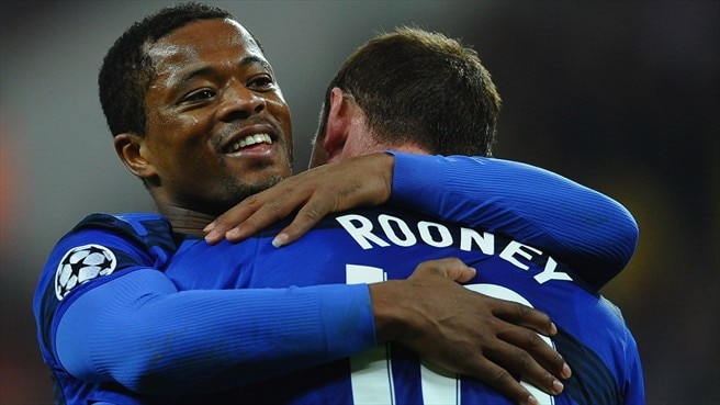 Evra magnanimous as United beat Oţelul