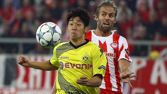 Match facts: Dortmund v Olympiacos