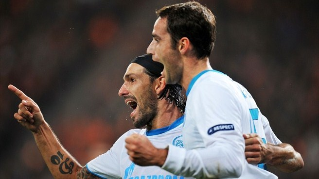 Shakhtar and Zenit produce four-goal draw