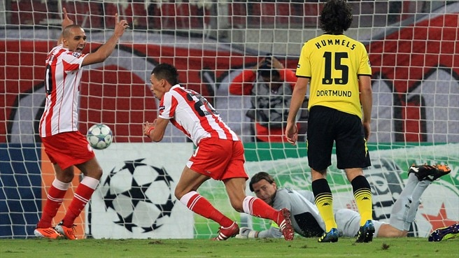 Defeat of Dortmund has Olympiacos on the rise