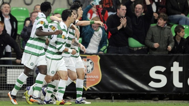 Rennes denied by resilient Celtic