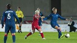 Jessica Fishlock (Wales) & Camille Abily (France)