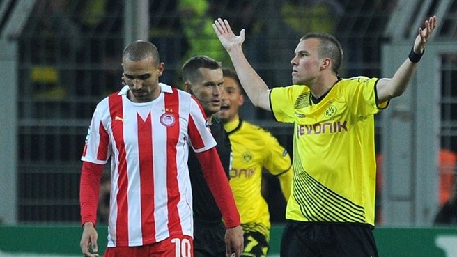 Dortmund - Olympiacos reaction
