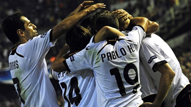 Valencia train sights on second place