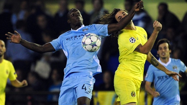 Villarreal - Man. City reaction
