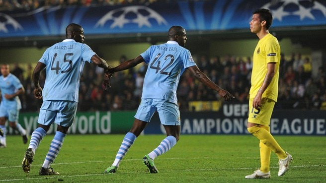 Touré-inspired City oust Villarreal