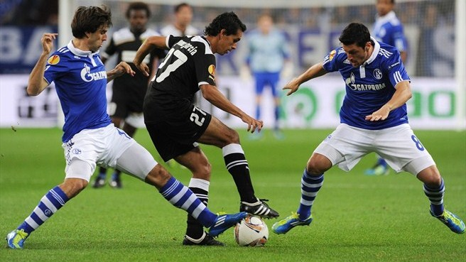 AEK Larnaca make their point at Schalke
