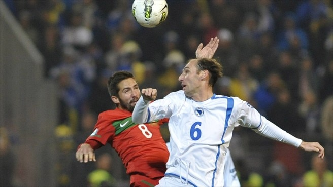 João Moutinho (Portugal) & Elvir Rahimić (Bosnia and Herzegovina)