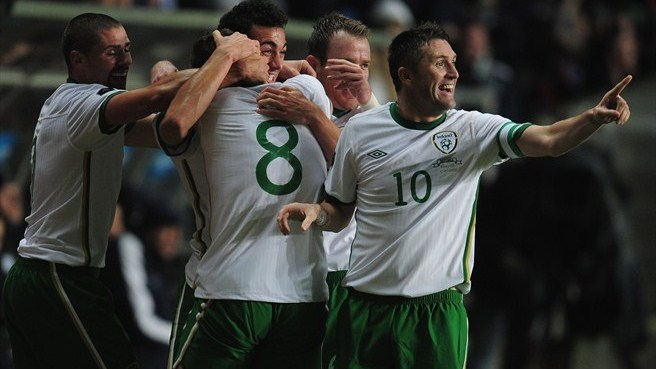 Estonia - Republic of Ireland reaction