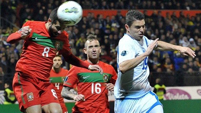 Raul Meireles, João Moutinho (Portugal) & Sanel Jahić (Bosnia and Herzegovina)