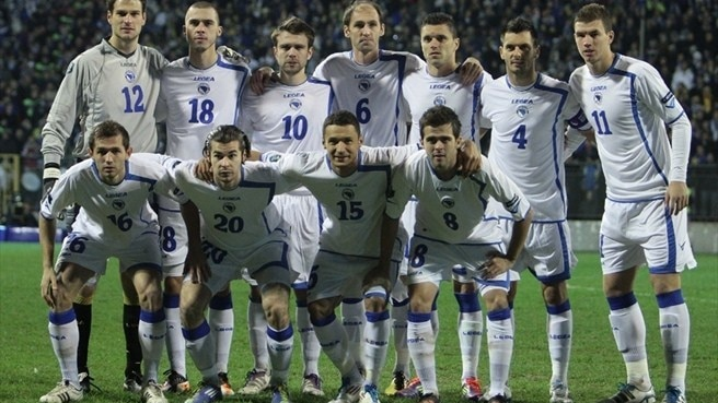 Bosnia and Herzegovina lineup