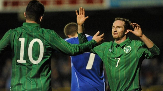 Ireland close in with Liechtenstein win