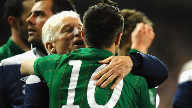 Trapattoni backs Ireland for finals success