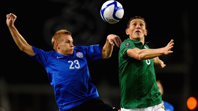 Taijo Teniste (Estonia) & Keith Andrews (Republic of Ireland)