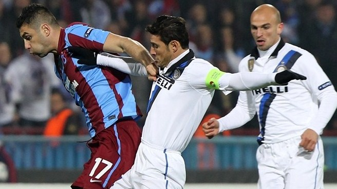 Inter march on thanks to Trabzonspor draw