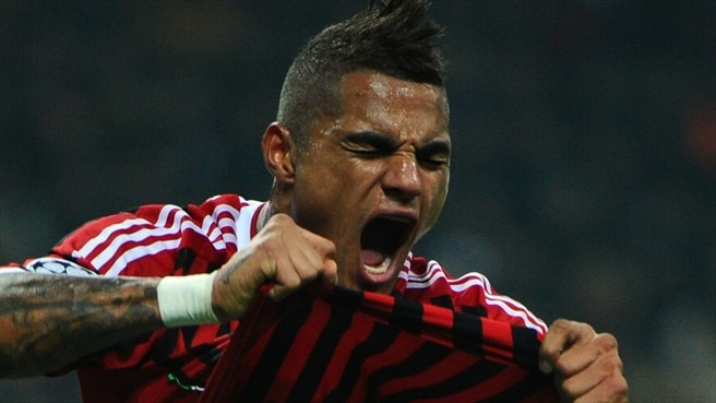Milan's Boateng doubtful for Arsenal visit