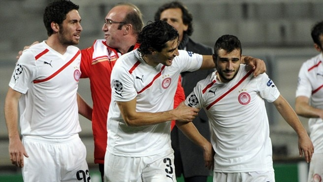 Olympiacos aim for progress against Arsenal