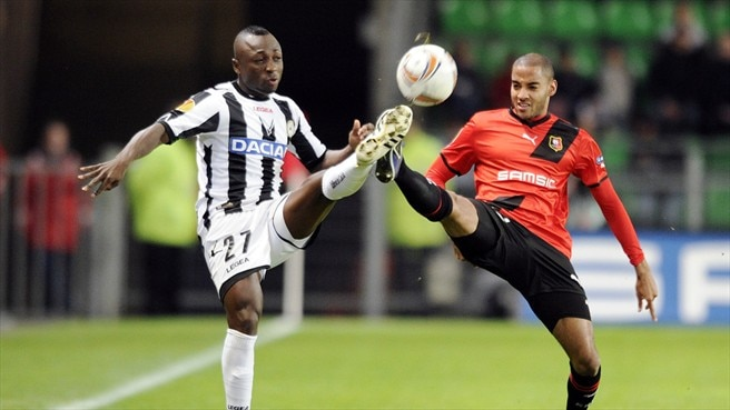 Udinese edge closer after Rennes stalemate