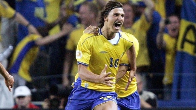Ibrahimović and Sweden peg back Italy
