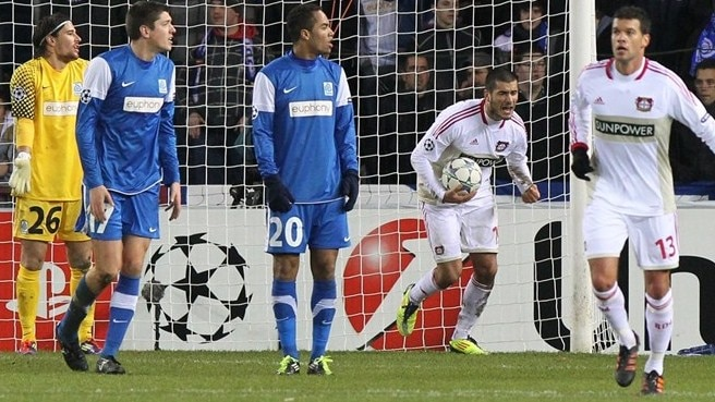 Genk draw leaves Leverkusen second in Group E