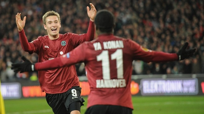 Hannover return to winning ways against Vorskla