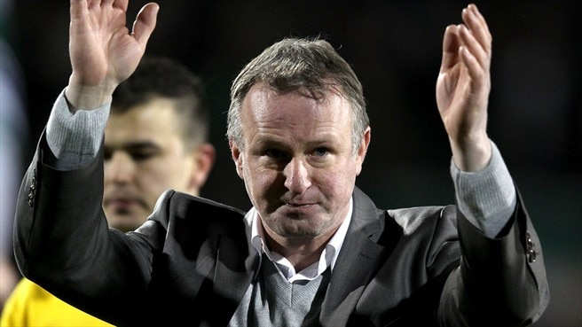 O'Neill takes up Northern Ireland reins