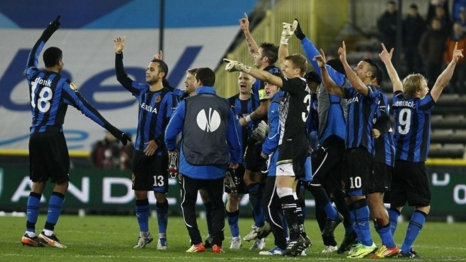 Club Brugge progress with Braga draw