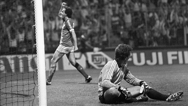 Magnificent Platini the scourge of Yugoslavia