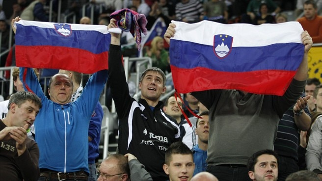Slovenia supporters the key against Ukraine
