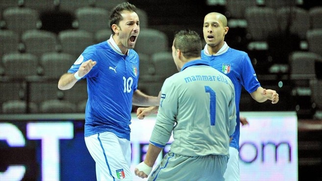 Two-goal Ippoliti leads Italy to Turkey victory