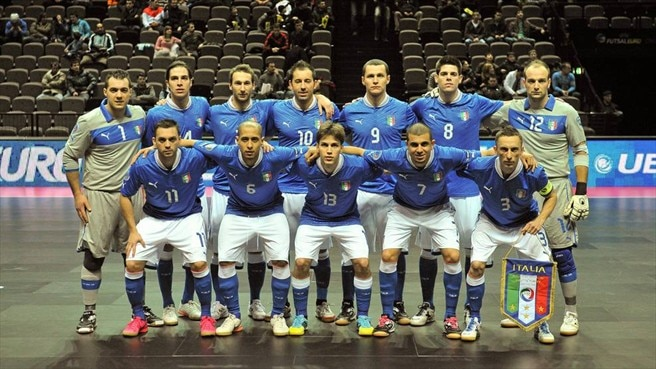 Italy line up