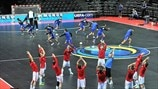 Czech Republic and Croatia warm up