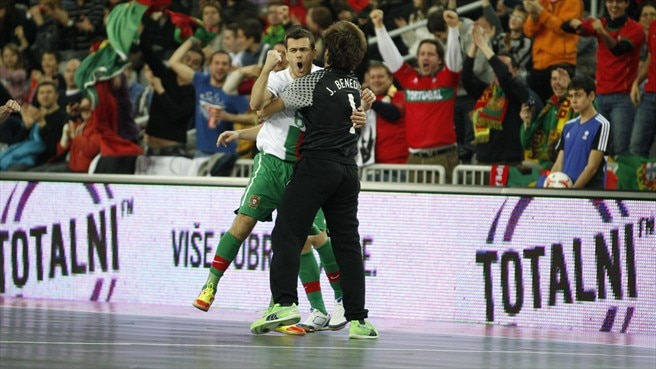 Portugal paired with Futsal World Cup holders Brazil