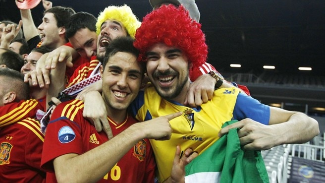 Finalists Spain keep on getting better