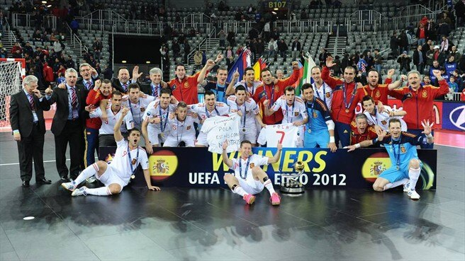 Spain lead the way for futsal in Europe