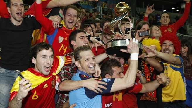 2012 Futsal EURO final reaction