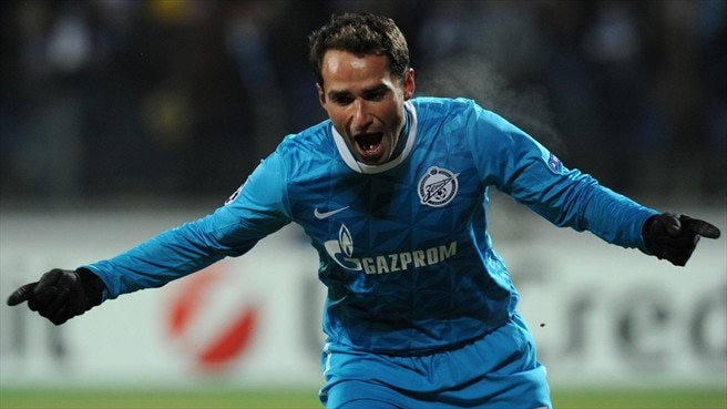 Zenit's Shirokov scores twice to down Benfica