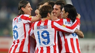 Falcao at the double as Atlético outshine Lazio